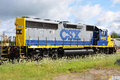 CSX Diesel Locomotive Royalty Free Stock Image