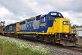 CSX Diesel Locomotive Stock Photos