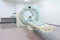 Ct scanner modern in hospital photo Royalty Free Stock Images