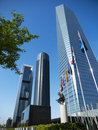 Cuatro Torres Business Area Stock Image