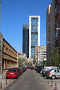 Cuatro Torres Business Area Stock Photos