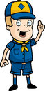 Cub Scout Royalty Free Stock Image
