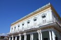 Cuba architecture sancti spiritus colonial at the city square Royalty Free Stock Photos