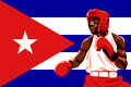 Cuba boxing Stock Photo