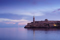 Cuba, Caribbean Sea, la habana, havana, morro, lighthouse Royalty Free Stock Photo
