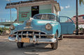 Cuba caribbean vinatge car libre Stock Photo