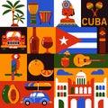 Cuba Havana tourism icons