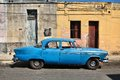 Cuba matanzas february old american car on february in matanzas new change in law allows cubans to trade cars cars in Royalty Free Stock Photo