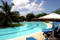 Cuba pool Royalty Free Stock Photography