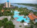 Cuba resort Stock Images