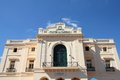 Cuba santa clara architecture in famous caridad theater Stock Image