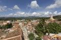 Cuba, Trinidad, roof tops Royalty Free Stock Photo