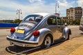 Cubaanse auto s de foto s van uitstekende amerikaanse en sovjetauto s maakten in de straten van havana Stock Afbeelding