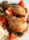Cuban chicken stew Royalty Free Stock Photography