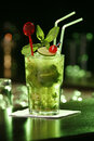 Cuban cocktail Mojito Stock Photos