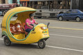 Cuban CoCo taxi Havana Royalty Free Stock Photo