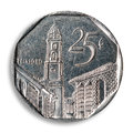 Cuban coin. Royalty Free Stock Photo