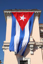 Cuban flag Royalty Free Stock Photo