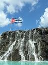 Cuban flag Royalty Free Stock Photo