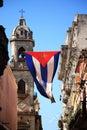 Cubano bandera en