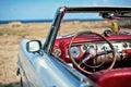 Cubano antiguo coche