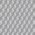 Cube pattern Stock Image