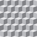Cube pattern Royalty Free Stock Photos