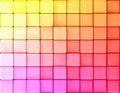 Cubes abstract background gradient made of d illustration Stock Photos
