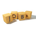 Cubes with jobs