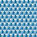 Cubes rows optical illusion background abstract Royalty Free Stock Images