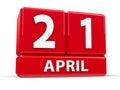 Cubes 21st April