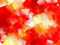 Cubism abstract red geometric background