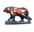 The cubist bear Royalty Free Stock Photo