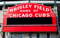 Cubs sign Stock Photo