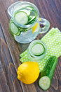 Cucumber drink Royalty Free Stock Photo