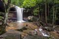 Cucumber Falls in Pennsylvania Royalty Free Stock Photo