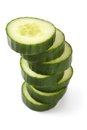 Cucumber pile Royalty Free Stock Photography