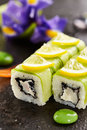 Cucumber Roll Royalty Free Stock Photo