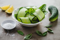 Cucumber salad Royalty Free Stock Photo