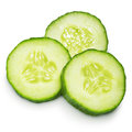 Cucumber slice Royalty Free Stock Photo
