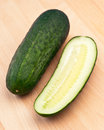 Cucumber sliced Royalty Free Stock Photos