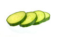 Cucumber slices detail of fresh tasty of Royalty Free Stock Photos