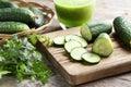 Cucumbers Royalty Free Stock Photo