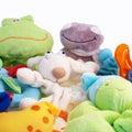 Cuddly toys Royalty Free Stock Photo