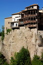 Cuenca, Spain: Casas Colgadas Royalty Free Stock Photos