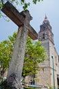 Cuernavaca Cathedral Royalty Free Stock Photo