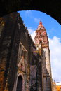Cuernavaca cathedral VII Royalty Free Stock Photo