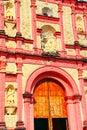 Cuernavaca cathedral XV Royalty Free Stock Photo