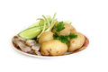 Cuisine russe Photo stock