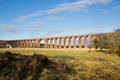 Culloden Viaduct crossing field Royalty Free Stock Photos